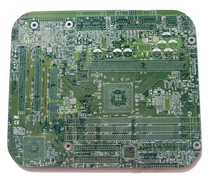 Tapis de souris circuit imprim design le dindon for Tapis circuit design