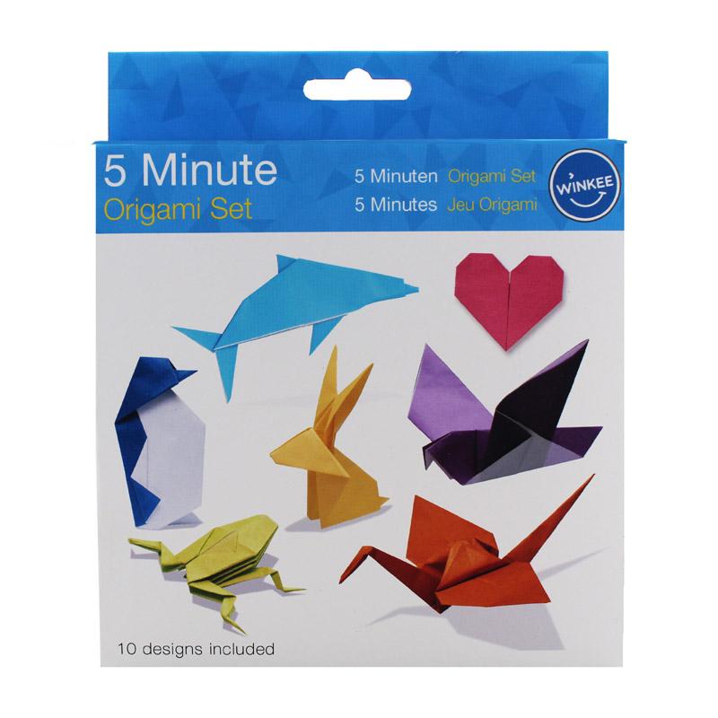 origami 5 minutes