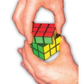 Moulin à poivre Rubik's cube