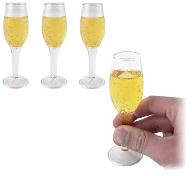 Champagne Shot Glasses Kitchen Le Dindon