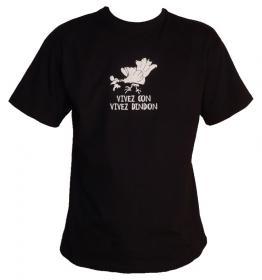T-shirt Vivez con - Size L