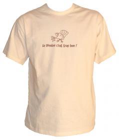 T-shirt C'est trop bon - Taille L