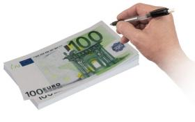 Bloc-notes 100 euros