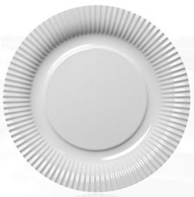 Assiette pique-nique trompe l'oeil