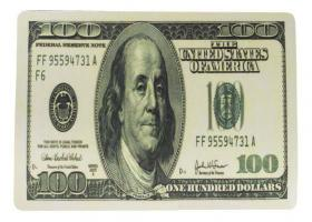 Tapis de souris 100 dollars