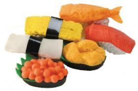 Gommes sushi