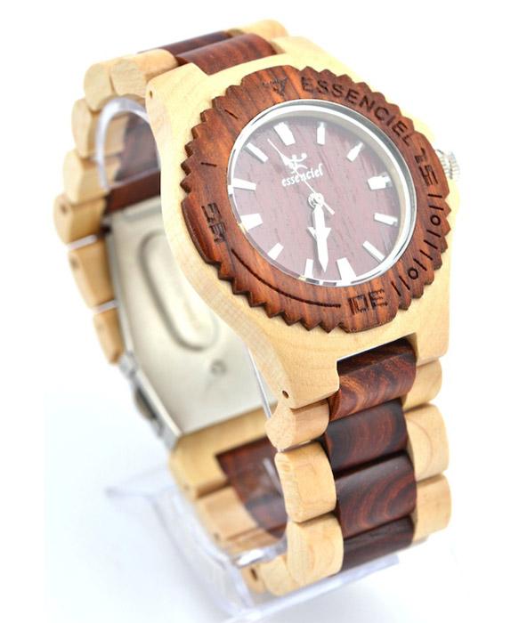 Wooden watch sport home decoration le dindon for Montre decoration