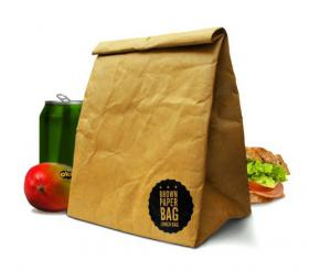 Isothermic Brown Paper Bag