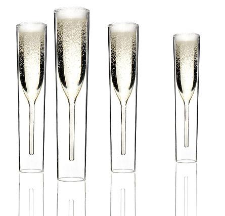 Fl tes champagne tubes cuisine le dindon - Flute a champagne design ...