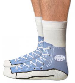 Chaussettes Converse (bleu)