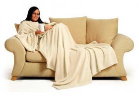 Sleeve blanket (cream)
