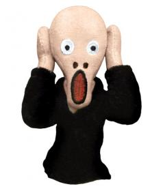 The Scream puppet