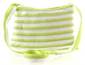 Zip-It Bag (Green & white)