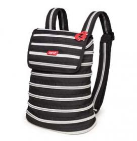 Backpack Zip-It (black & silver)