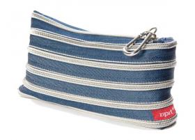 Zip-It wallet (jeans & silver)