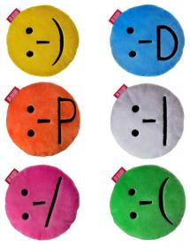 Smiley pillows