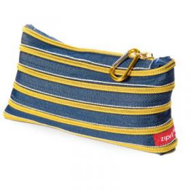 Zip-It wallet (jeans & gold)