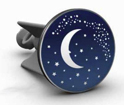 Bouchon de lavabo lune phosphorescente design le dindon for Bouchon de lavabo salle de bain