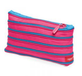 Zip-It wallet (pink & blue)