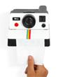 D�rouleur de papier toilette Polaroid