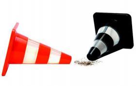 Salt & Pepper Traffic cones