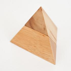Puzzle 2 pieces Pyramide