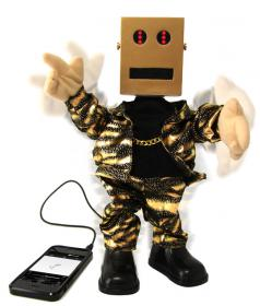 Robot dansant - Haut-parleur