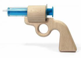 Pistolet à eau en bois Aqua Joe