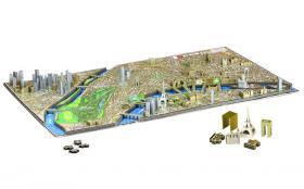 4D Cityscape Puzzle Paris