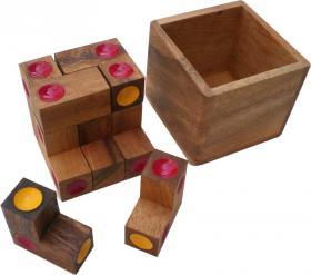 Puzzle Dice box