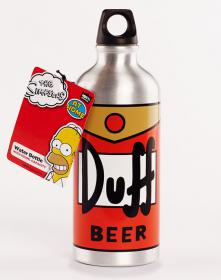 Simpsons Duff Beer Water Bottle