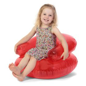Child's inflatable chair