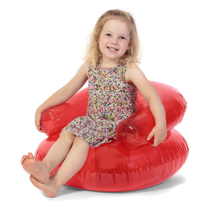 Chaise gonflable pour enfants design le dindon for Chaise gonflable