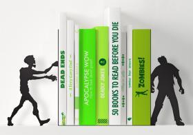 Serre-livres Zombies