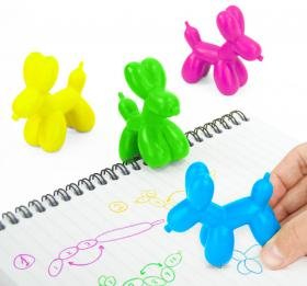 Crayons Chiens ballons