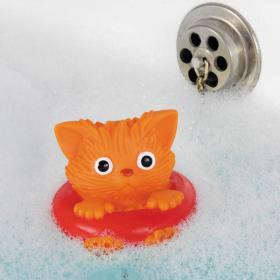 Bouchon de bain Chat Bouée