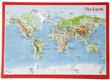 """Carte postale en relief """"Monde"""""""