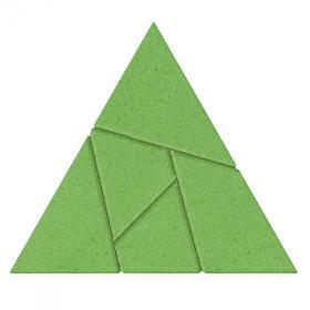 Casse-tête Triangle en pierre