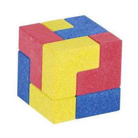 Puzzle Cube (curved stone)