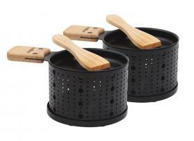 Lumi - 2 mini raclettes à la bougie