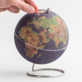 Globe en liège