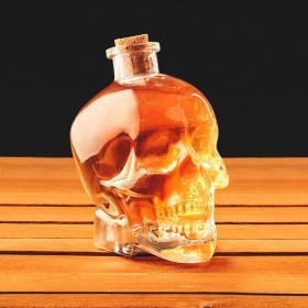 Carafe à liqueur Crâne