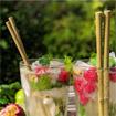 Pailles bambou (x6)