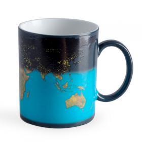 Mug Thermique Mappemonde