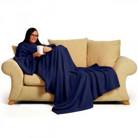 Sleeve blanket (blue)