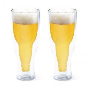2 Bières à l'envers