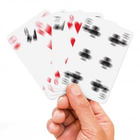 Blurry Playing Cards
